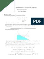 programacion matematica