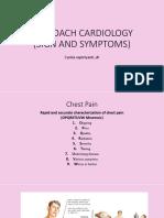 Sign and Symptom Cardiovascular
