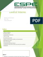 Control Interno David Simbaña