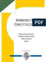 Livro (Anais) Hermenêutica Constitucional Direito Fundamental à Saúde No STF 2014 (Coletânea Simpósio)