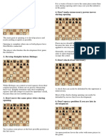101 Chess Tips