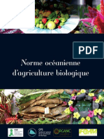 Norme Oceanienne Agriculture Biologique