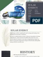 Powerpoint Solar Energy
