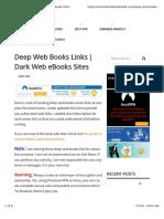 Deepweb Books