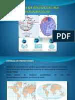 Sistema de Proyecciones Cartográficas