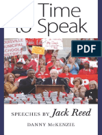 Danny McKenzie - A Time to Speak_ Speeches by Jack Reed (2009)