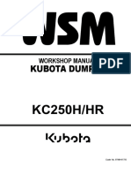 KUBOTA KC250HR DUMPER Service Repair Manual.pdf