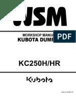 KUBOTA KC250HR DUMPER Service Repair Manual.pdf