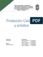 Proteccion Catodica y Anodica