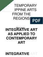 Contemporary Arts 1