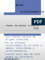 Acufenometria