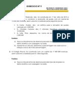 Exercicios de Contabilidade nº 9 (Ñ resolvidos)