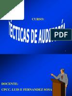 Tecnicas de Auditoriafinanciera-2016