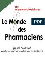 le monde des pharmaciens