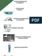 Utiles de Desinfección