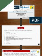 Flipcart Case Study