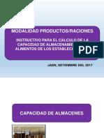 CAPACIDAD DE ALMACEN CURSO ENVASES Y EMBALAJES 2017 (1).ppt