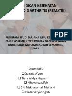 Pendidikan Kesehatan Rheumatoid Arthritis (Rematik)