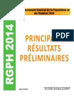 RGPH_RESULTATS PRELIMINAIRES