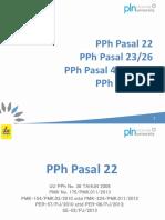 PPh Pasal 4(2) ; 23&26 ; 22 ;15