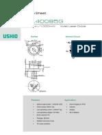 Laser Diode HL40085G_R0
