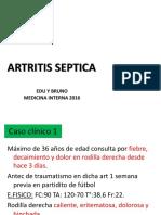 Artritis Séptica