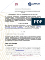 Convocatoria Becas de Movilidad Especialidades Medicas 2019