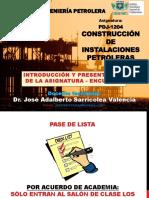 CIP Encuadre Introduccion y Presentacion de La Asignatura Dr. Jose a. Sarricolea Valencia