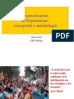 Sistematizacion de Experiencias Metodologicas.ppt