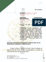 Facultad de Atracción sobre amparo relacionado con la Operación Safiro