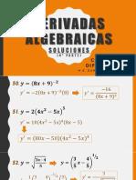 Derivadas algebraicas