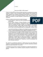 Preguntas acerca del FMI y el BM