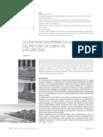 Las Dimensiones Epistemológicas Del Proceso de Diseño en Arquitectura