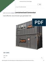 Containerised Generator 1375 KVA _ Aggreko