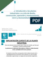Introducción Plantas Industriales y su Diseño