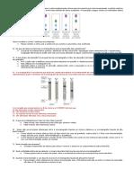 Lista Cromatografia