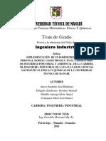 IMPLEMENTACION DE UN DOSIMETRO DE RUIDO PERSONAL MODELO NOISE PRO DLX EN EL LABORATORIO DE SEGURIDAD INDUSTRIAL Y AMBIENTAL DE LA CARRERA DE INGENIERIA INDUSTRIAL DE LA FACULTAD DE MATEMATICAS.pdf