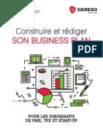 Construire Et Rédiger Son Plan d'Affaires