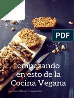 Empezando en esto de la Cocina Vegana