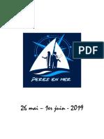 Carnet Pères en Mer 2019