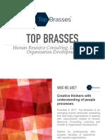 TopBrasses - Product Portfolio