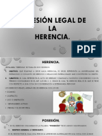 Posesión Legal de La