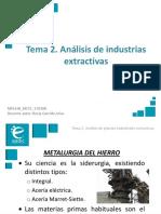 Presentación_M1T2_Análisis de Plantas de Industrias Extractivas