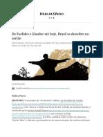 De Euclides e Glauber até hoje, Brasil se descobre no sertão - 07_07_2019 - Ilustríssima - Folha