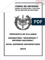 Anexo Syllabus Seguridad y Defensa