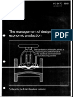 Bs-pd-6470-1981 the Managment of Design for Economic Production