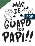 Playeras Papa