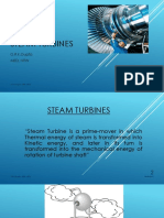 Class - Steam Turbines