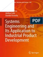 [Studies in Systems, Decision and Control 134] Eugenio Brusa,Ambra Calà,Davide Ferretto (auth.) -  Systems Engineering and Its Application to Industrial Product Development (2018, Springer International Pub.pdf
