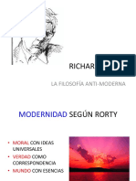 Richard Rorty clase de filosofia